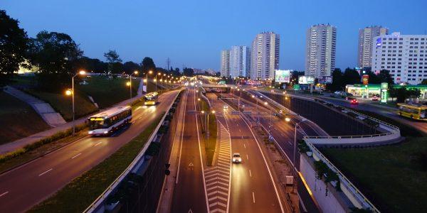 Widok na Katowice
